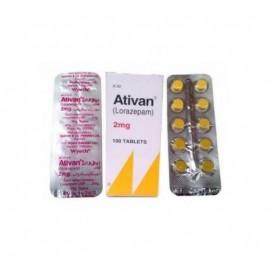 Buy Ativan 1 mg Tablet