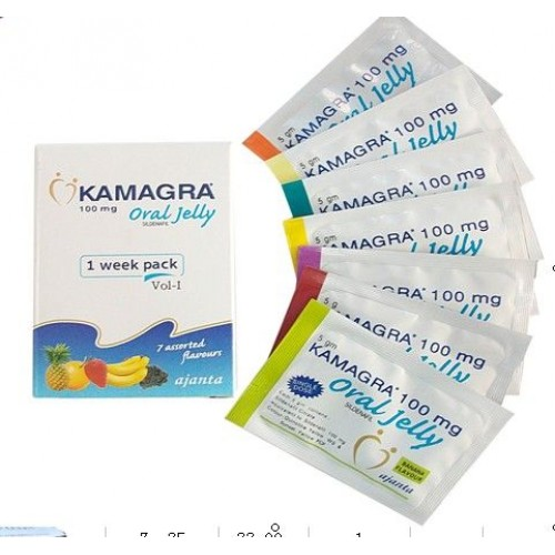 one week pack of Oral Tadalafil Jelly 100mg